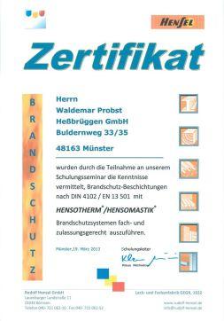 teilnahmezertifikat-hensotherm-brandschutz-probst